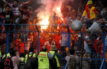 I-League 2017-18: Ugly face of hooliganism pops up again; 8 East Bengal fans arrested following brawl