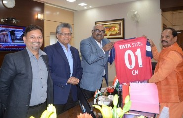 WATCH: Jharkand CM sends in his wishes to Jamshedpur FC ahead of their first home match