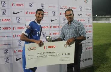 Indian Arrows thrash Chennai City FC 3-0 courtesy of Aniket Jadhav's heroics