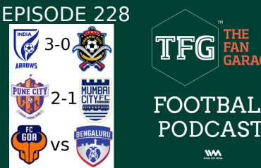 TFG Indian Football Podcast: Indian Arrows strike--EB fans menace--ISL preview/review