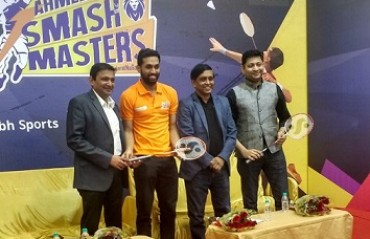 WATCH: Ahmedabad Smash Masters' owner & shuttler Prannoy talk about their debut season