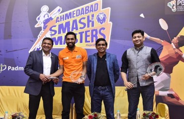 PBL's newest franchise Ahmedabad Smash Masters launched; Prannoy & Tai Tzu Ying form the core squad
