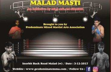 Indian MMA: Predominate Mixed Martial Arts Association reveals fight card for Malad Masti event