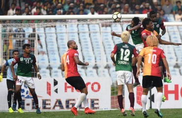 I-League 2017-18 MATCH REPORT: Explosive Kolkata Derby sees Mohun Bagan edge out East Bengal to register 1-0 victory