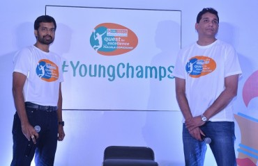 Quest for Excellence & Pullela Gopichand Academy launch #YoungChamps campaign