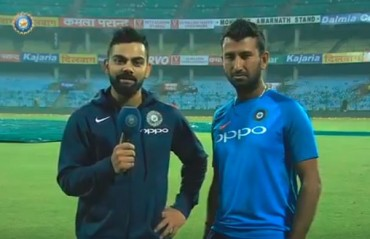 WATCH: Virat Kohli's special message for the military forces on the Armed Forces Flag Day