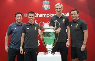 Liverpool legends kick-off LFC World in Mumbai