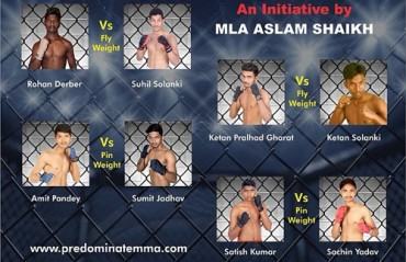 Indian MMA: Predominate MMA announces Second fight Card for Malad Masti