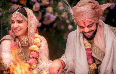 WATCH: Virat Kohli sings for wife Anushka Sharma at their wedding