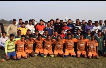 Jamshedpur FC reach out to various local youth football clubs in the outskirts of the city