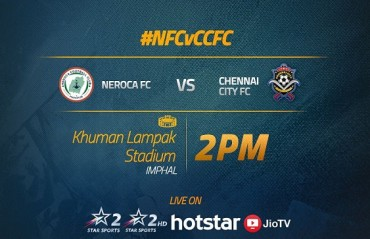 MATCH REPORT: NEROCA beat Chennai City at home in a close encounter