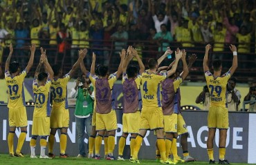 MATCH REPORT: Vineeth stars in Blasters' win over 10-men NorthEast United
