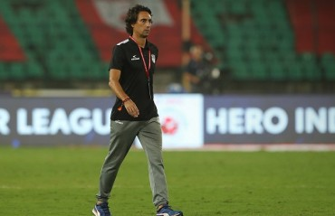 ISL 2017: NEUFC coach Deus says that not scoring goals is a big problem that needs to be solved