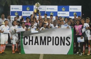 Panjim Dolphins emerge Vedanta Women's League champions