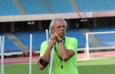 We are here for the experience of the competitive matches: Luis Norton de Matos