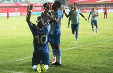 I-League 2017-18 MATCH REPORT -- Joachim scores a brace as Chennai City tip Churchill Brothers