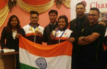 India shines at the Asian Grappling Championship held in Nepal