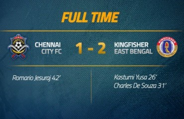 I-League 2017-18 MATCH REPORT -- East Bengal victorious in Chennai City's home away from home