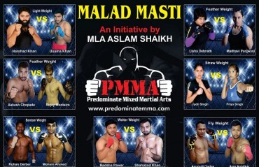 Indian MMA: Fight card for December 24 event Of Predominate MMA and results from last event