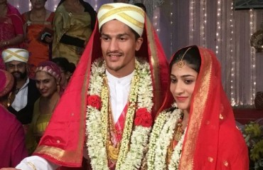 JUST MARRIED: Shuttler Ashwini Ponnappa ties the knot with model/athlete Karan Medappa