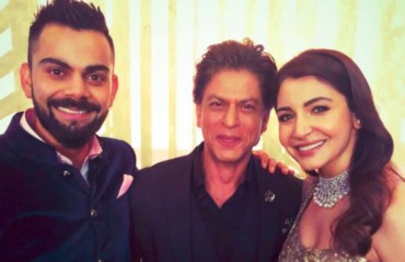 WATCH: Virat, Anushka and SRK groove to the tunes of popular tracks