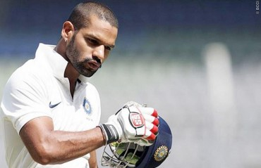 Shikhar Dhawan doubtful for first Test against South Africa