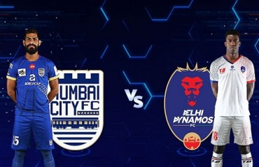 MATCH REPORT: Mumbai City slap Delhi with 4 goals in a game with 20 players for an entire half