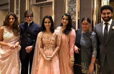 WATCH: Saina Nehwal with the Shahenshah & Baadshah of Bollywood
