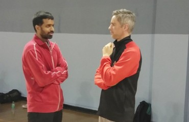PBL 2017: WATCH -- two masterminds, Gopichand & Rivas caught in one frame!