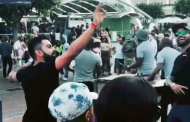 WATCH: Virat Kohli and Shikhar Dhawan shake a leg on a South African street