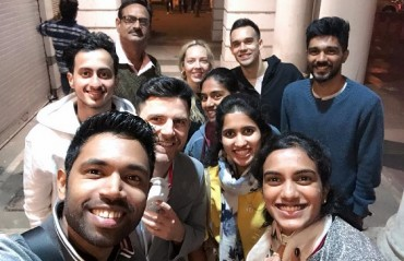 PBL 2017-18: WATCH -- Chennai Smashers spend New Year's day watching 'Jumanji'