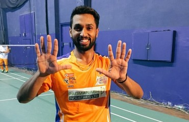PBL 2017-18: It's 10/10 for Prannoy -- won his 10th straight match beating Srikanth in PBL