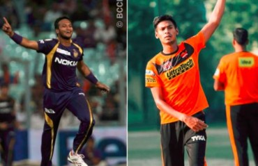 IPL 2018: Kolkata Knight Riders release Shakib; Mustafizur gets NOC from Bangladesh Cricket Board