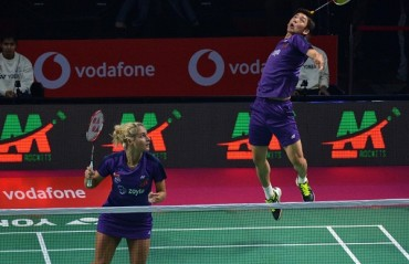 PBL 2017-18: MATCH REPORT -- Mumbai Rockets trumped Awadhe Warriors 4-1 to win the tie