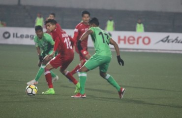 I-League 2017-18: Long list of misses ends goalless between Lajong and Chennai City