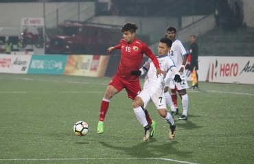 MATCH REPORT: Lajong's Koffi broke the long- fought resistance by Indian Arrows