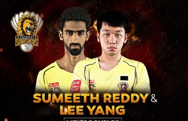 PBL 2017-18: WATCH -- Lee Yang & Sumeeth's heroics that helped Chennai cancel out Bengaluru's trump