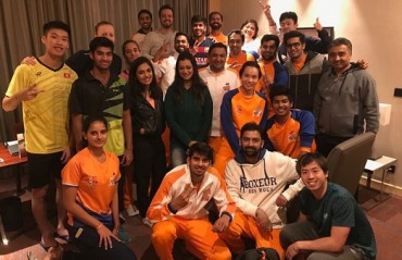 PBL 2017-18: MATCH REPORT -- Smash Masters enter SF with a 5-0 win over Mumbai Rockets