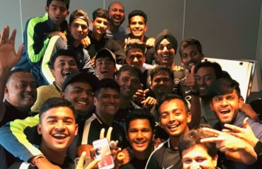 WATCH: Here's how India U-19 celebrated Dravid's 45th birthday
