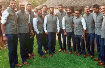 WATCH: Team India visit and dine at High Commission in Johannesburg
