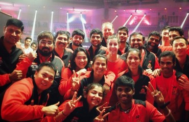 PBL 2017-18: WATCH -- A delighted Hyderabad Hunters express their joy on social media