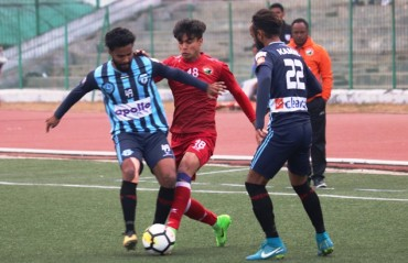 I-League 2017-18 MATCH REPORT -- Lajong fail to hold Minerva, William's strike does the job