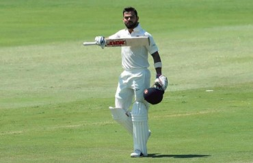 Kohli's celebrates his 150 milestone at Centurion with a special gesture for wife Anushka