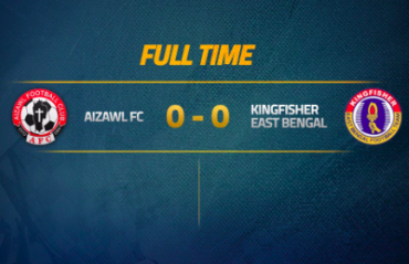 I-League 2017-18 MATCH REPORT -- A draw dampens both East Bengal and Aizawl's title hopes