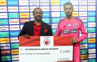 ISL 2017-18:Goalkeepers are no more just stoppers but also build attacks, says FCPC keeper Vishal Kaith