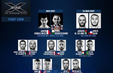 Brave Combat Federation announces Fight card for Brave 10: The Kingdom Rises