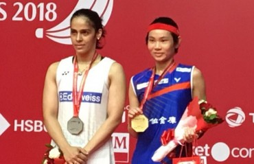 Indonesia Masters: Saina settles for a Silver after losing to Tai in finals