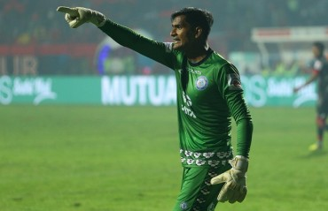 ISL 2017-18: WATCH -- Happy to have won the important three points, says Jamshedpur keeper Subrata