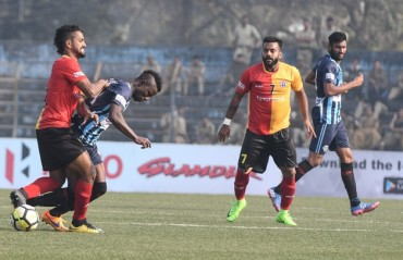 MATCH REPORT: Katsumi misses penalty as East Bengal manage a 2-2 draw with Minerva