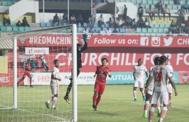 MATCH REPORT: NEROCA win courtesy Chidi's spot kick over Churchill Brothers